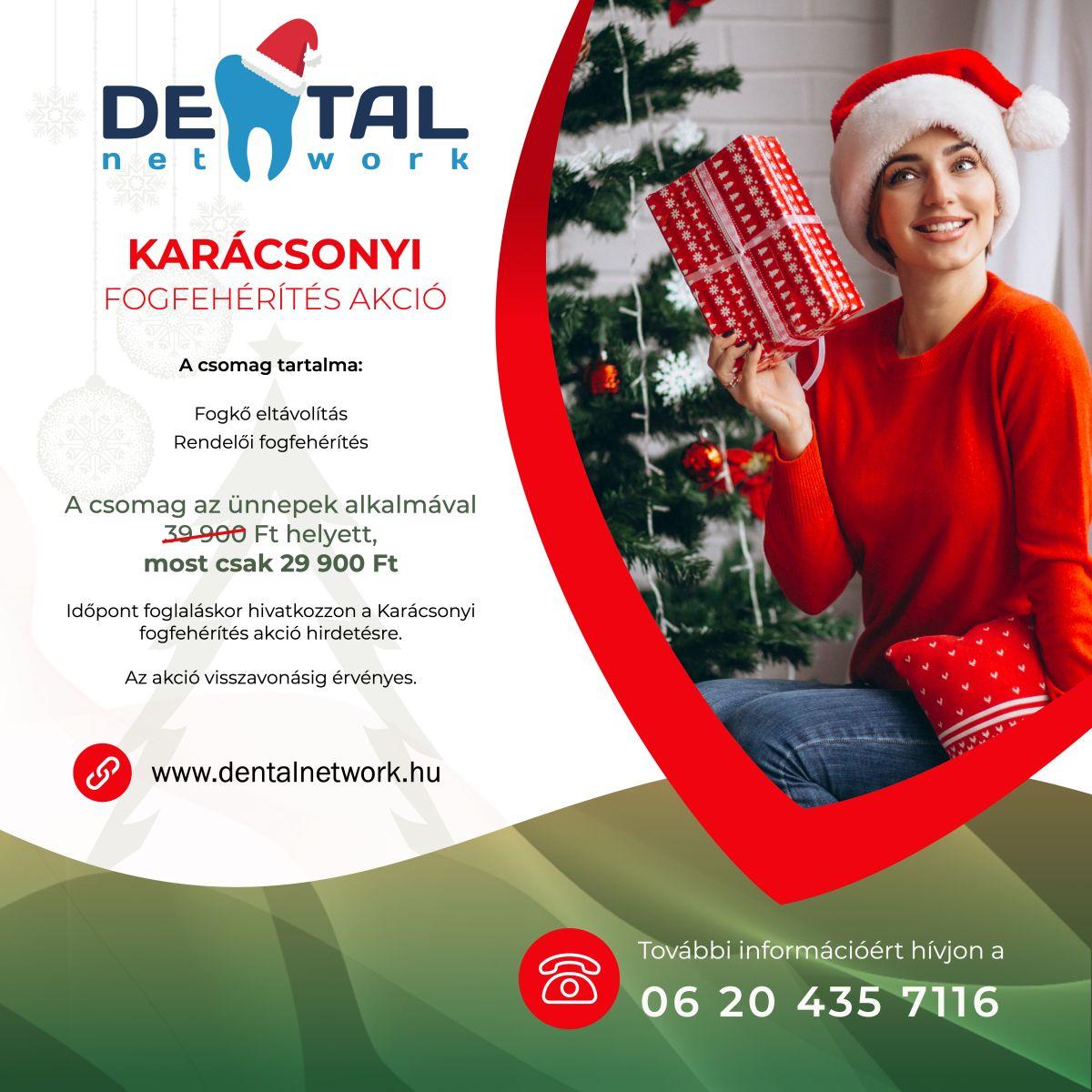 Grand Park Dental Fogászat - Karácsonyi akció - Fogfehérítés